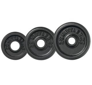 Kettler Cast Iron Weights inshapedirect