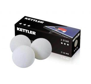 Kettler Table Tennis OUTDOOR Balls x 3