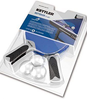 Kettler Table Tennis OUTDOOR Balls x 3 inshapedirect