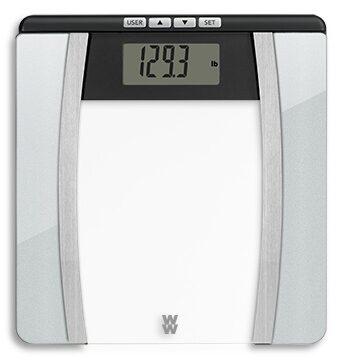 WeightWatchers Body Analysis Glass Scale inshapedirect
